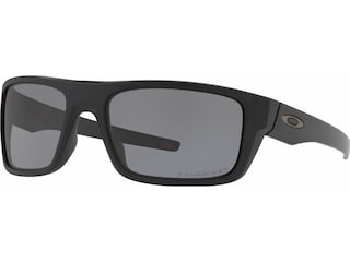 Oakley SI Drop Point Polarized Sunglasses Matte Black Frame/Gray Lens