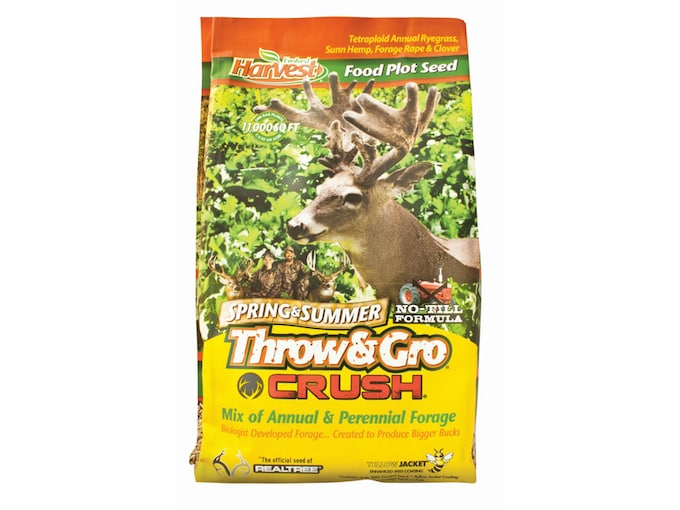 Evolved Harvest Throw and Gro Spring Crush Food Plot Seed 3.5 lb
