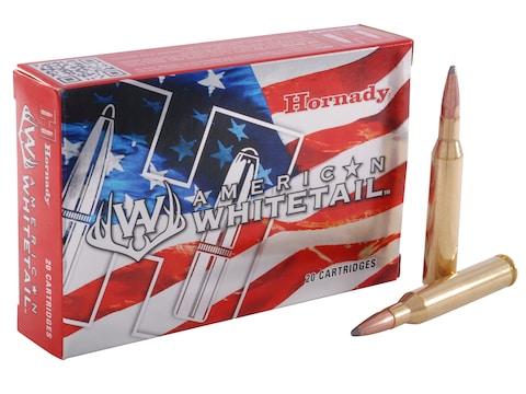 Hornady American Whitetail Ammunition 25-06 Remington 117 Grain Interlock Spire Point B...