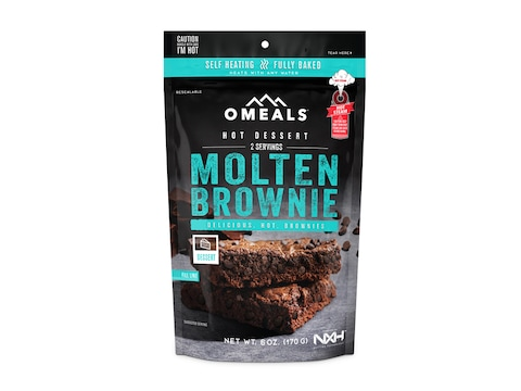 OMEALS Brownie Self Heating Meal