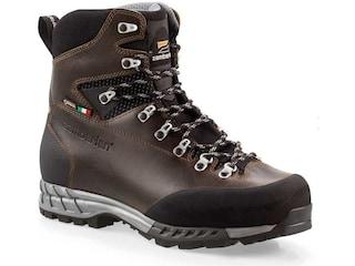 Zamberlan 1111 Cresta Alta GTX RR Hunting Boots Leather Waxed Dark Brown Men's 9 D