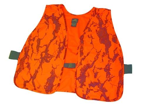 Natural Gear Hunter's Safety Vest Polyester Natural Gear Blaze Orange Camo