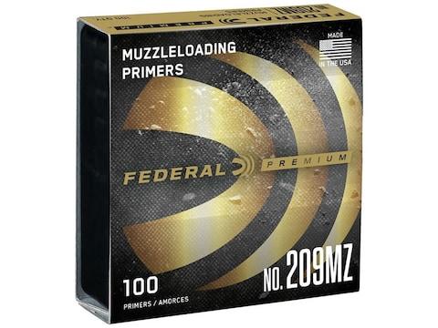 Federal Premium Primers #209 Muzzleloading Box of 100