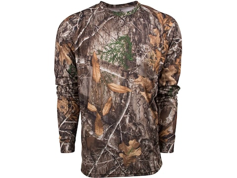 King's Camo Men's Hunter Long Sleeve T-Shirt Polyester