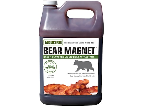 Moultrie Bear Magnet Savory Bacon Bear Attractant Liquid 1 Gallon