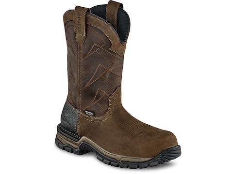"Irish Setter Two Harbors Non-Metallic Safety Toe 11"" Work Boots Leather Men's"