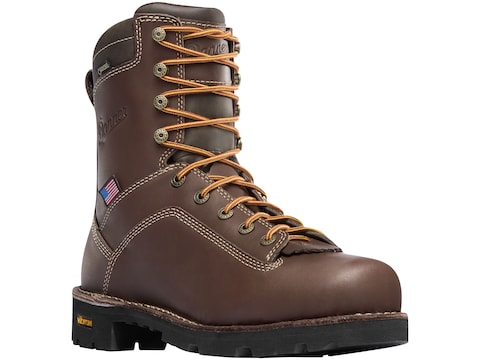 "Danner Quarry USA 8"" GORE-TEX Alloy Safety Toe Work Boots Leather Men's"