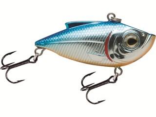 Livingston Pro Ripper 75 Lipless Crankbait Blue Back Chrome Shad