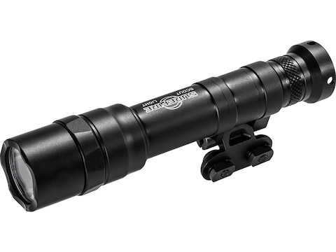 Surefire M640DF Dual Fuel Scoutlight Pro Weaponlight LED with 1 CR123A Battery Aluminum