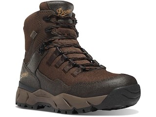 """Danner Vital Trail 6"""" Hiking Boots Leather/Nylon Coffee Brown Men's 10.5"""