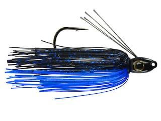 Picasso Hank Cherry Straight Shooter Pro Jig Black/Blue Shower 1/4 oz
