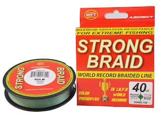 Ardent Strong Braided Fishing Line 40lb 150yd Green
