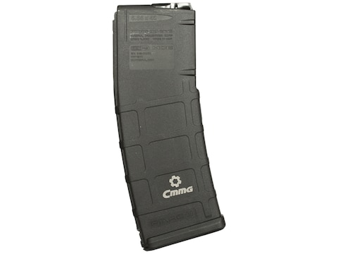 CMMG ARC Magazine for AR-15 with Radial Delayed Blowback Upper 9mm Luger Polymer Black