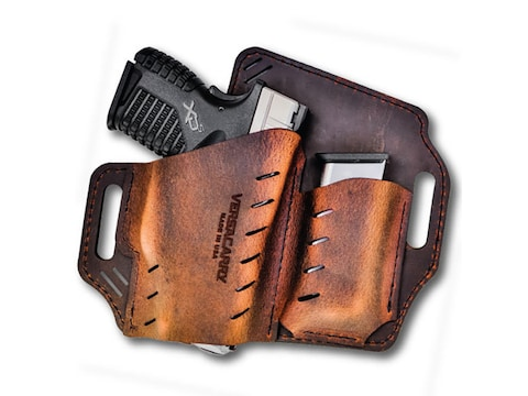 Versacarry Guardian Holster Right Hand Leather Brown