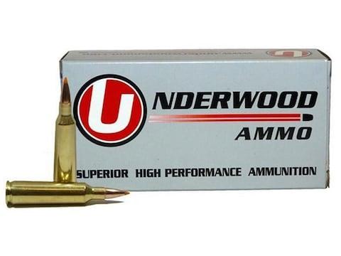 Underwood Ammunition 22-250 Remington 60 Grain Nosler Ballistic Tip Box of 20