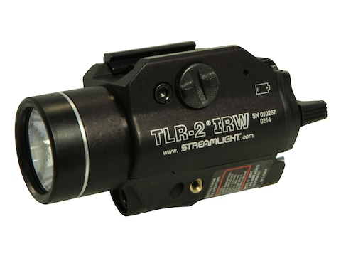 Streamlight TLR-2 IRW Weapon Light White C4 LED  with 2 CR123A Batteries Aluminum Black