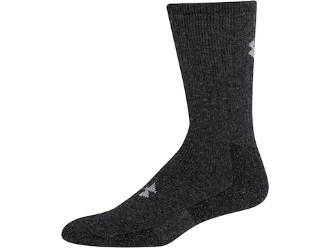 Under Armour Men's UA Boot Socks Synthetic Blend 2 Pairs
