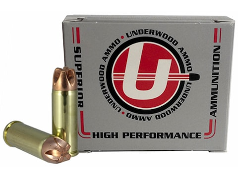 Underwood Ammunition 480 Ruger 300 Grain Lehigh Xtreme Penetrator Lead-Free Box of 20