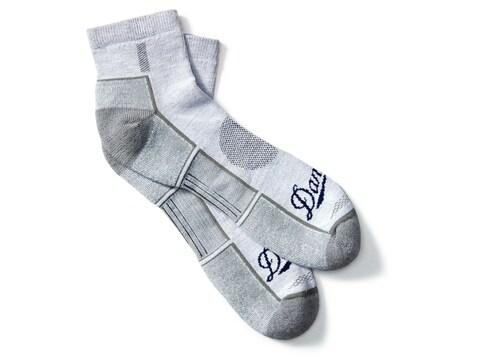 Danner Men's Lightweight 1/4 Crew Hiking Socks Poly/Nylon/Merino Gray