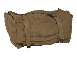 Military Surplus Italian Cotton Kit Bag Olive Drab Grade 2