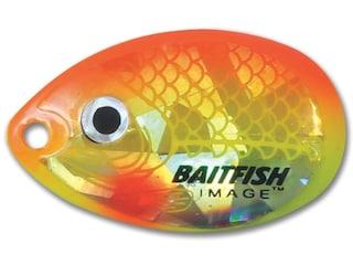 Northland Baitfish-Image Indiana Blade #4 Sunrise 3 pk