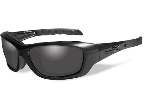 Wiley X Black Ops WX Gravity Sunglasses Matte Black Frame Smoke Gray Lens