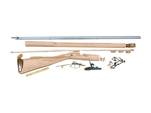 """Traditions Kentucky Muzzleloading Rifle Unassembled Kit 50 Caliber Percussion 1 in 66"""" ..."""