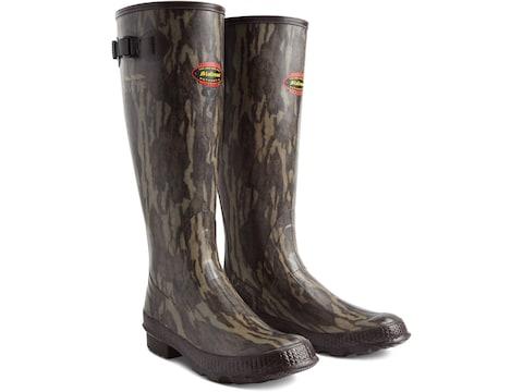 "LaCrosse Grange NWTF 18"" Hunting Boots Rubber Mossy Oak Original Bottomland Men's"