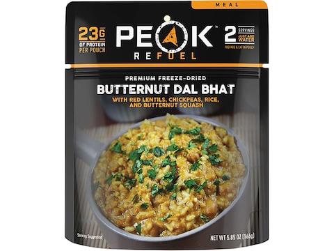 Peak Refuel Vegan Butternut Dal Bhat Freeze Dried Food 5.85 oz