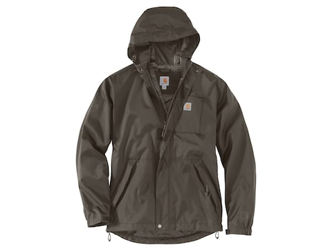 Carhartt Men's Dry Harbor Waterproof Rain Jacket Nylon