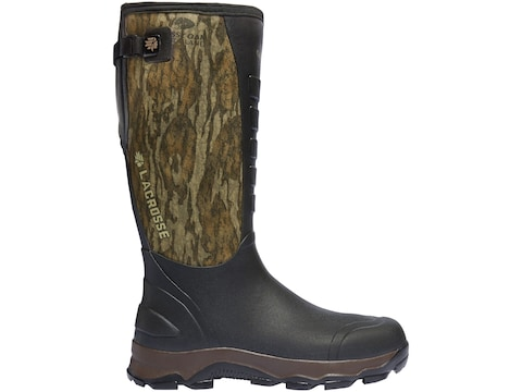 """LaCrosse 4XAlpha 16"""" Hunting Boots Hand-Laid Premium Rubber Over Neoprene Mossy Oak Bot..."""