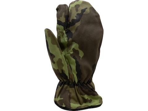 Military Surplus Czech M95 Trigger Finger Mittens Grade 2 Camo