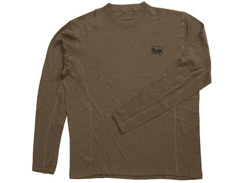 Banded Men's Midweight Base Layer Long Sleeve Shirt Merino Wool