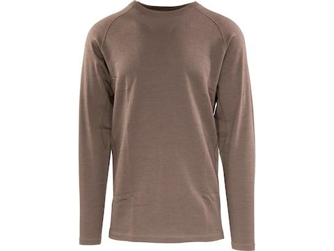 MidwayUSA Men's Midweight Merino Wool Long Sleeve Base Layer Shirt