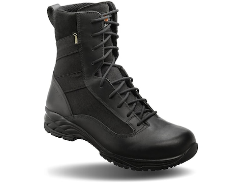 """Opened Package GTX 10"""" Tactical Boots Leather Black Men's 13 D"""