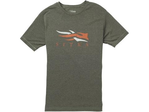 Sitka Gear Men's Sitka Logo Short Sleeve T-Shirt Polyester/Cotton