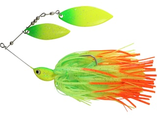 Northland Reed Runner Magnum Double Willow Spinnerbait 3/4oz Firetiger Painted