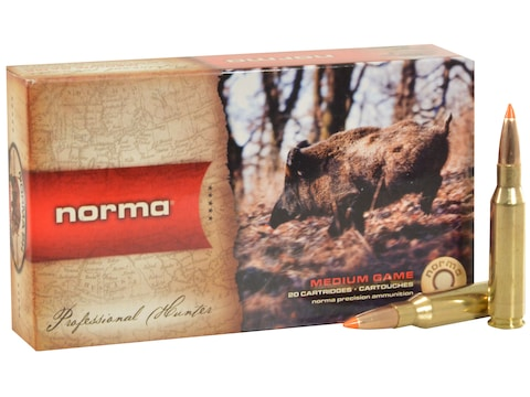 Norma TipStrike Ammunition 243 Winchester 76 Grain Polymer Tip Flat Base Box of 20