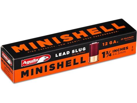 """Aguila Minishell Ammunition 12 Gauge 1-3/4"""" 7/8 oz Slug"""