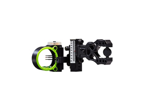 """Black Gold Ascent Verdict Whitetail Bow Sight with Zero-Out .019"""" Pin Bow Sight Diamete..."""