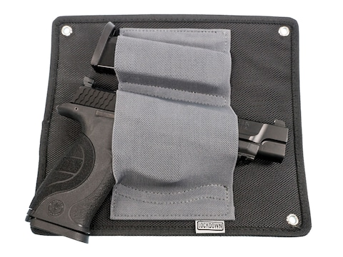 Lockdown Under Desk Holster Nylon Black