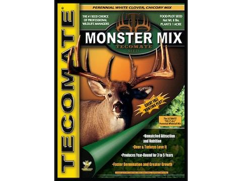 Tecomate Monster Mix Perennial Food Plot Seed