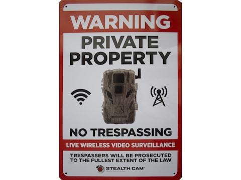 Stealth Cam Stealth Live Wireless Video Surveillance Sign