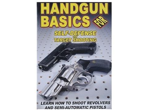"Gun Video ""Handgun Basics For Self-Defense and Target Shooting"" DVD"