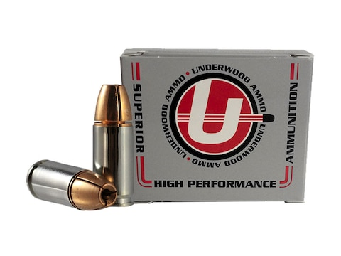 Underwood Ammunition 9mm Luger 105 Grain Lehigh Controlled Fracturing Hollow Point Lead...