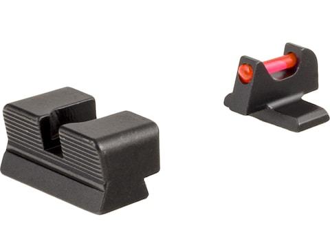 Trijicon Fiber Sight Set FN FNS-40, FNX-40, FNP-40 Fiber Optic Red, Green