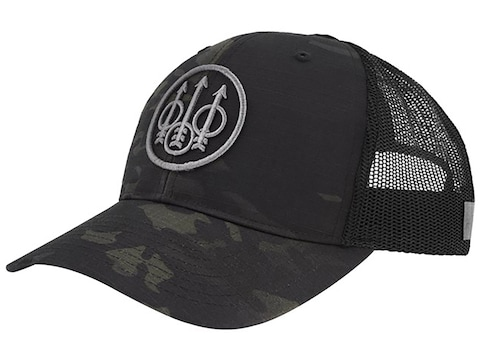 Beretta Men's Multicam Trucker Cap Black Multicam One Size Fits Most