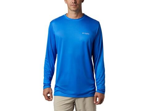 Columbia Men's PFG Terminal Tackle Heather Long Sleeve Shirt