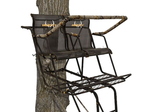 Muddy Outdoors The Stronghold XTL 18' Double Ladder Treestand Steel