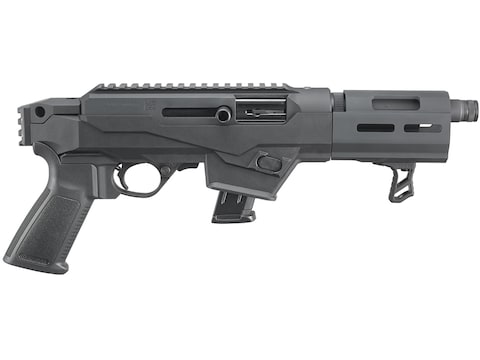 """Ruger PC Charger 9mm Luger Semi-Automatic Pistol 6.5"""" Barrel 10-Round"""